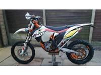 KTM 350 excf six days 63reg