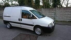 Great Work Van, Full Bulkhead and Roof Rack, 3 seats. New steering rack, front brake disks and pads.