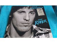 BRUCE SPRINGSTEEN:THE RIVER-DOUBLE VINYL L.P-VGC