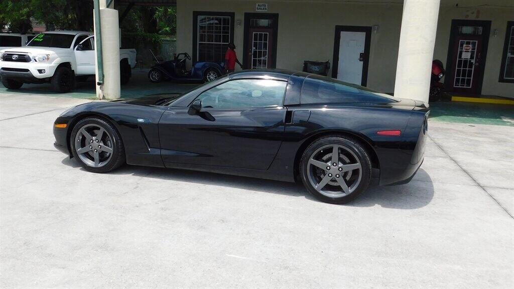 2006 Black Chevrolet Corvette  Z51 | C6 Corvette Photo 4