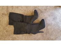 New Look Suede Boots Size 7