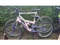 Boy girl bike 60 pound