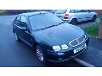 Rover 25 1.4 mot july 42k on the clock