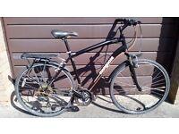 """Mongoose Crossway 150 Hybrid Bike Large Size Frame 21"""""""
