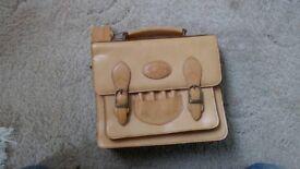 Serenity Goose Real Leather Handbag (Vintage)