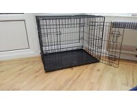 Sturdy puppy or small animal crate - used only a few times!
