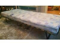Fold out single bed