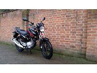 Yamaha YBR 125 2014 Legal learner motorbike 125cc