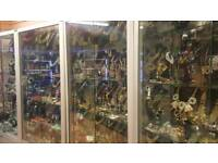 Glass cabinets - 5 glass showcases