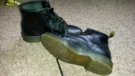 Black Doc Martin ankle boots size 7. Almost perfect condition, slightly smaller than usual DM size 7