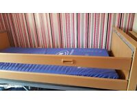 Electric profile bed
