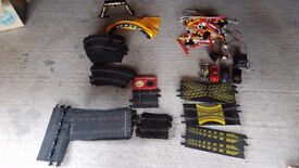 Large about of Scalextric