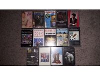 14 Pop Music Cassette Tapes