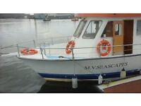 modern vessel for sale