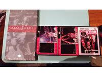 Michael Jordan career collection card set