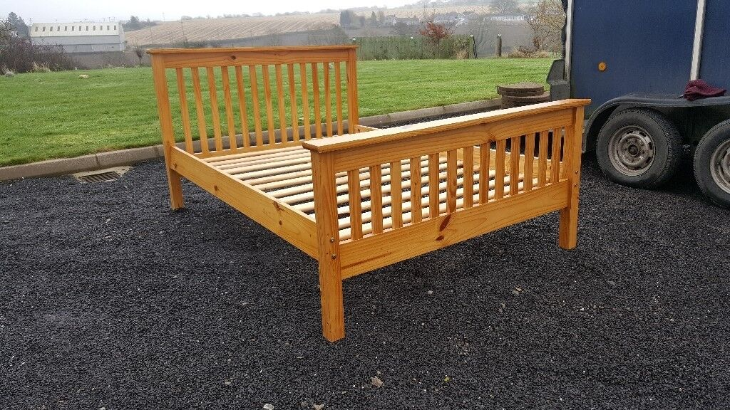 Lovely double bed frame