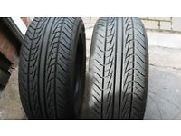 Two 225 60 15 Tyres