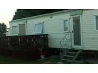 3bed static caravan to rent at bunn leisure selsey w/sussex