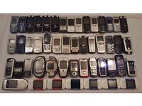 Job Lot of 164 Nokia Mobile Phones Including Vintage & Retro Phones