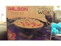 palson electric wok
