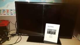28 inch technica hdtv/dvd player