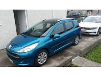 Peugeot 207 sw open to offers