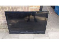 "Sony Bravia LCD TV 46"" in perfect condition with remote!"