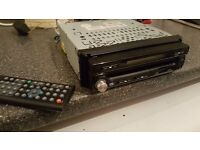 car tv dvd player and amp