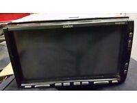 Used Clarion MAX973HD car radio system HDD, GPS