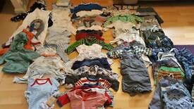 Huge baby boy 3-6 months bundle of clothes