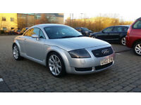 2002 Audi TT 1.8 T Quattro 3dr with Service History, & CAMBELT Replaced @ 120K