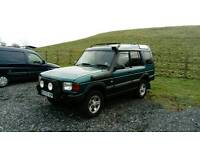 Land-rover Discovery Xs tdi 98s plate