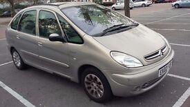 xsara picasso exclusive estate 1-8 petrol manual 142.232 2002 mot mid -feb