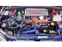 Subaru impreza ej20 engine. Rebuilt july with brand new short engine. Other part available.