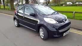 2011 Peugeot 107 1.0 in metallic black - £20 road tax, cheap to run and insure