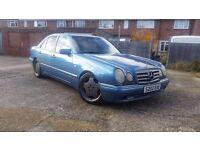 1998 W210 Mercedes E430 Avantgarde Auto V8 AMG Spec SPARES or REPAIR Modified