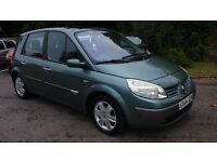 Renault Scenic 2004 Auto, Very low miles, Very Clean, 2 Lady Owners, FSH, Long MOT