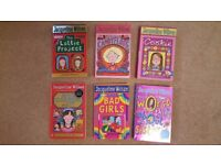 Jacqueline Wilson Six Book Set Age 9 - 11 Years