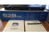 MOTU 828 MK3 Firewire Recording Audio Interface (Sound card)