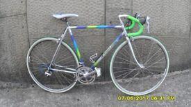FRENCH 14sp RACING BIKE LIGHTWEIGHT21in/54cm COLUMBUS FRAME V/CLEAN GOOD SPEC RECENT SERVICE