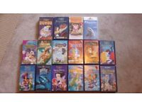 VHS Bundle - Disney /children cartoons Classics (16 tapes)
