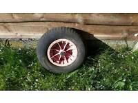Wheelbarrow wheel