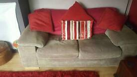 2 large two seater sofas.(Harvey's)