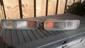 Nissan Skyline GTS-T Spec 1 fog lights and indicators