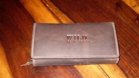 Soft Leather Purse, Wild Club Only. Collection Wadebridge, PL27.