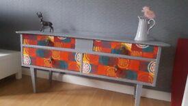 Vintage upcycled dresser unit