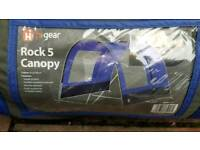 Hi gear canopy 5 in good used condition Can deliver or post!