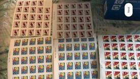 124 1st class stamps
