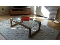 Next TV unit, coffee table and 2 side tables