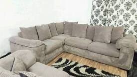 New/Ex display jumbo cord corner+3 seater*Free delivery*